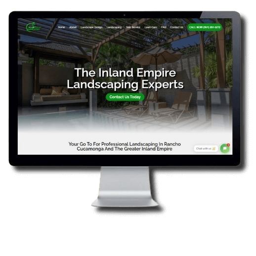 inland empire landscapers SEO client